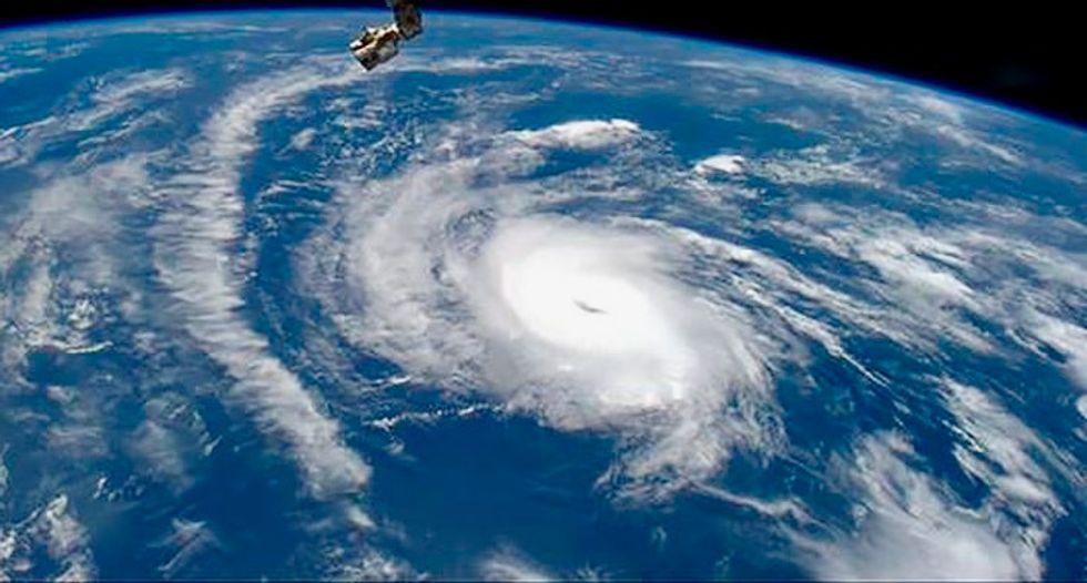 Hurricane Irma forms over eastern Atlantic