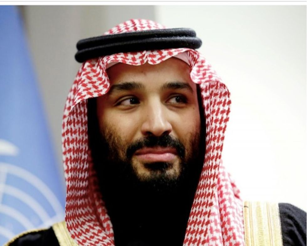 Saudi Crown Prince Mohammed bin Salman meets US's Steve Mnuchin, Saudi state TV says