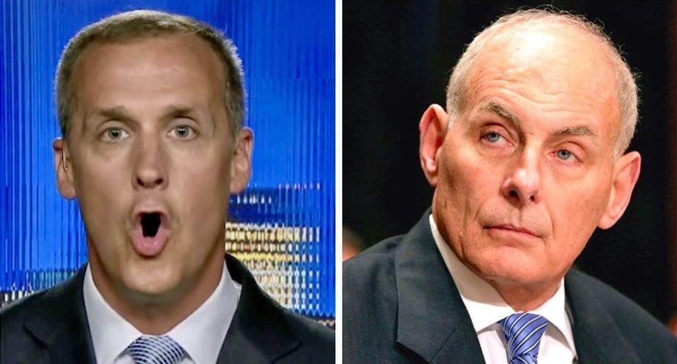 John Kelly almost beat up Corey Lewandowski outside the Oval Office: report