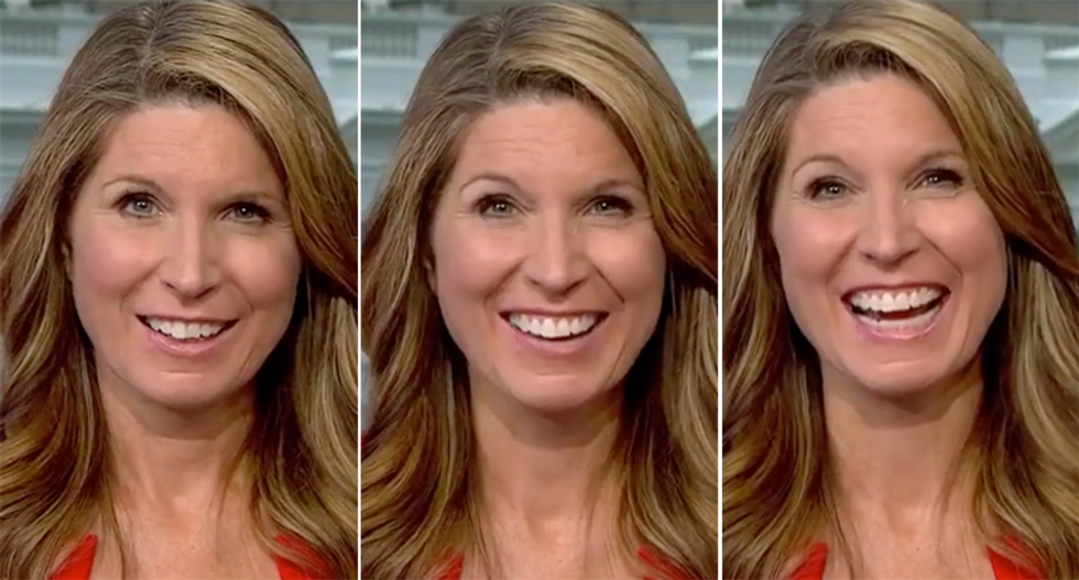 WATCH: Nicolle Wallace cracks up after watching clip of Trump talking about the Bible