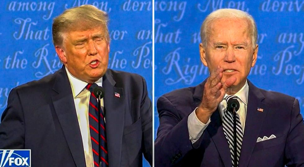 Trump's campaign never bothered to contact Biden's campaign about COVID exposure
