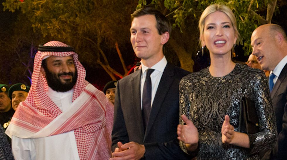'Kushner is not out securing peace he's out to secure contracts' for Trump businesses: Conservative analyst