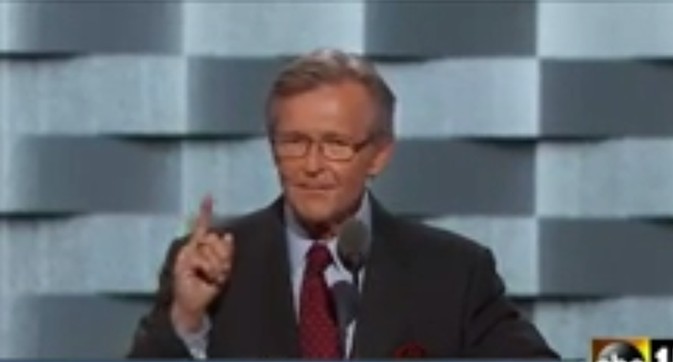 Admiral John Hutson just crushed Trump: 'You're not fit to polish John McCain's boots'