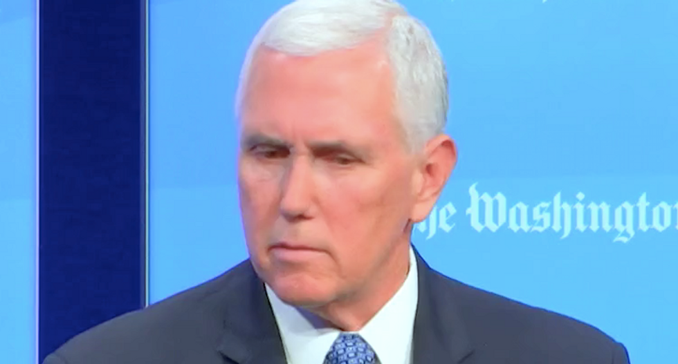 MSNBC's Morning Joe and Mika mock Mike Pence for 'making a fool of himself' by lying about migrant 'caravan'