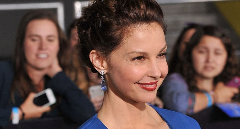 'He's just revolting': Ashley Judd unloads on 'chest gazer' Trump -- who even gawks at relatives