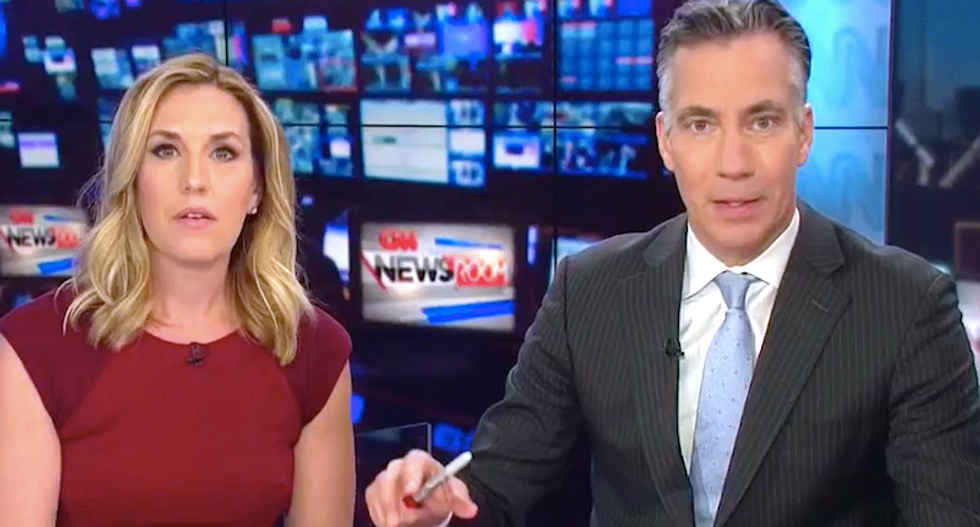CNN knocked off the air after bomb threat forces evacuation at NYC's Time Warner Center