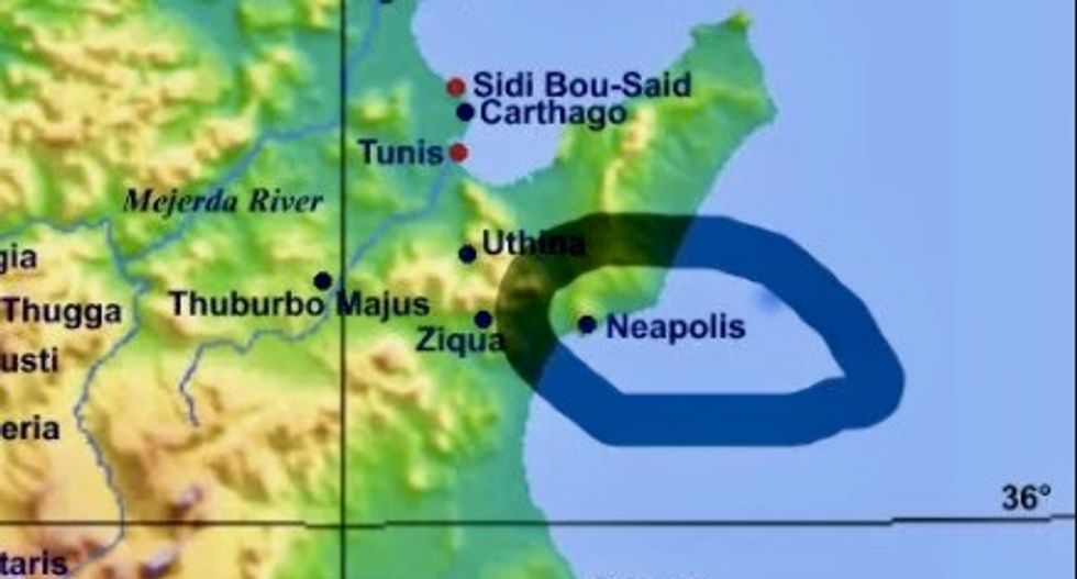 Over 20 hectares of Roman ruins discovered submerged off Tunisian coast
