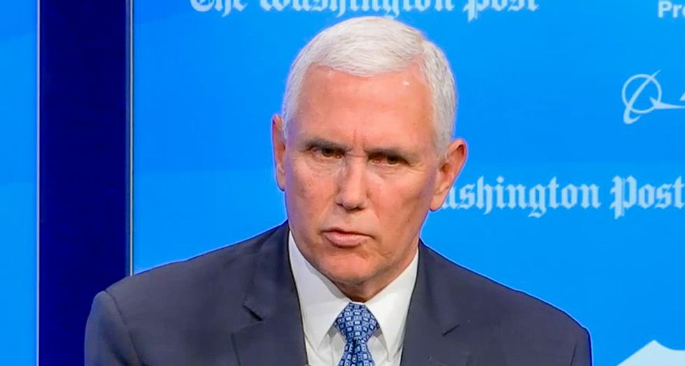 Without proof, Mike Pence says it's 'inconceivable' that Trump is lying about Middle Easterners in caravan