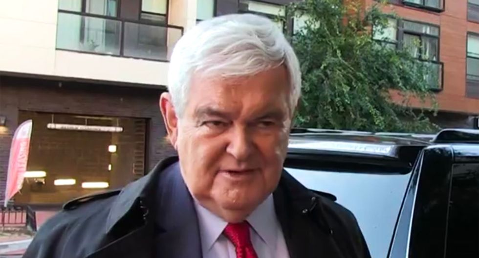 Watch Newt Gingrich blame bomb recipients for bringing it on themselves: 'They have been very hostile to conservatives'