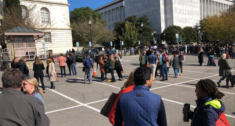 Cannon House Office Building evacuated after alarm goes off
