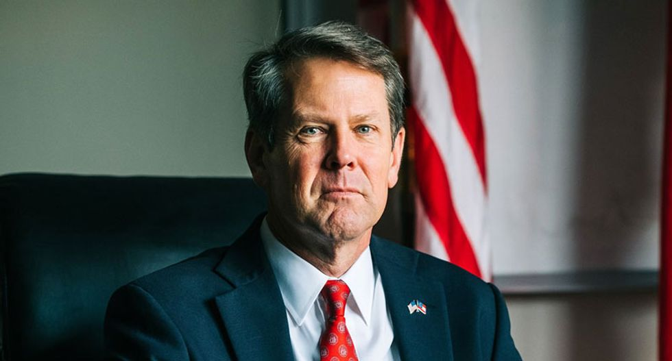Georgia Republican Kemp announces surprise investigation accusing Democrats of hacking voter registration system