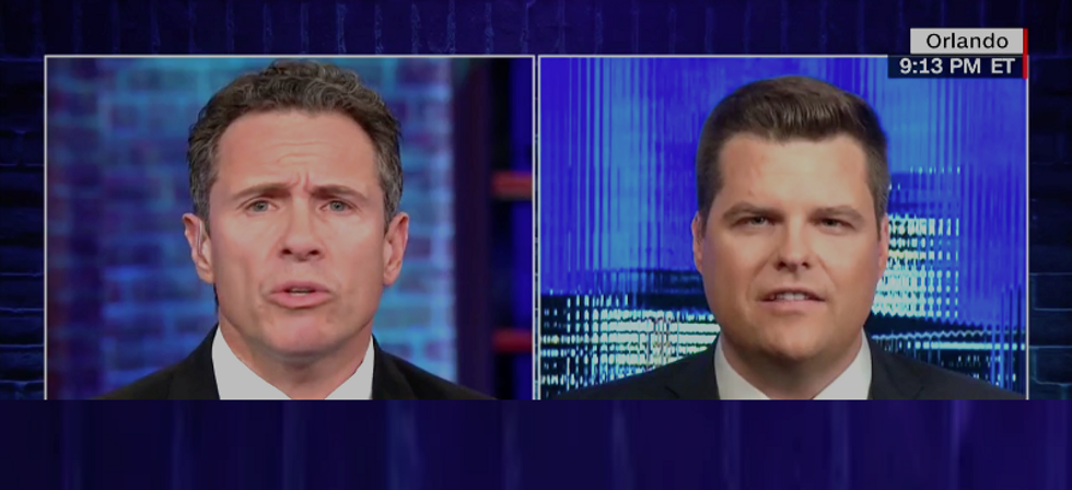 CNN's Chris Cuomo destroys Matt Gatez for saying bombs don't matter: 'It matters a lot when the bomb gets sent to you'