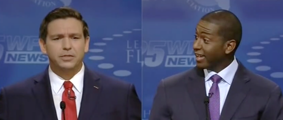 Watch Florida Dem candidate Andrew Gillum take aim at Ron DeSantis during debate: 'Racists believe he's a racist'