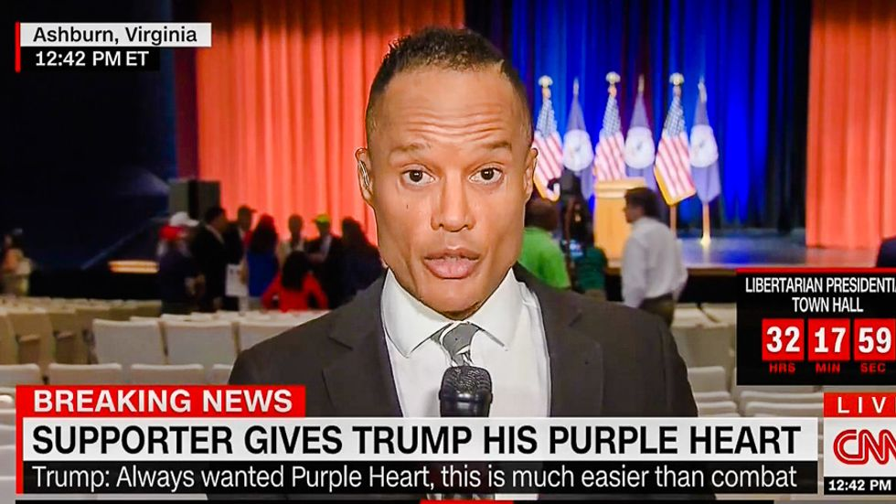 CNN reporter: 'The crowd enjoyed it' when Donald Trump kicked baby out of rally