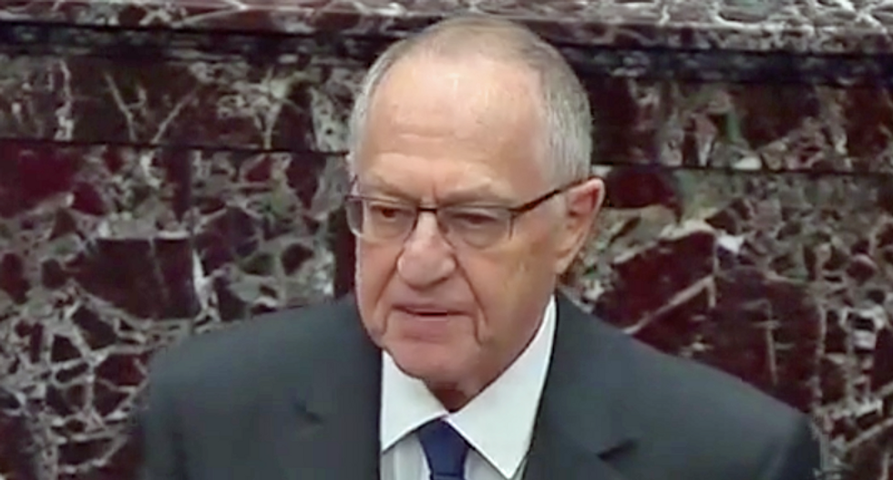 Legal analyst mocks Alan Dershowitz for admitting he has a 'minority view': It's 'because he's wrong'