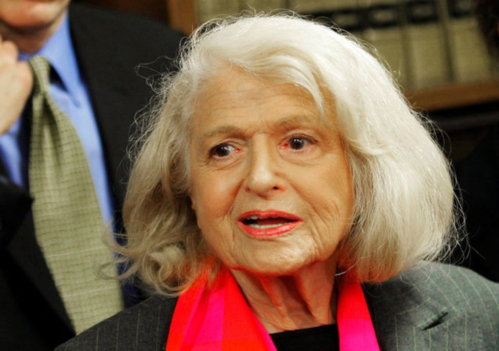 US gay marriage pioneer Edith Windsor dead at 88
