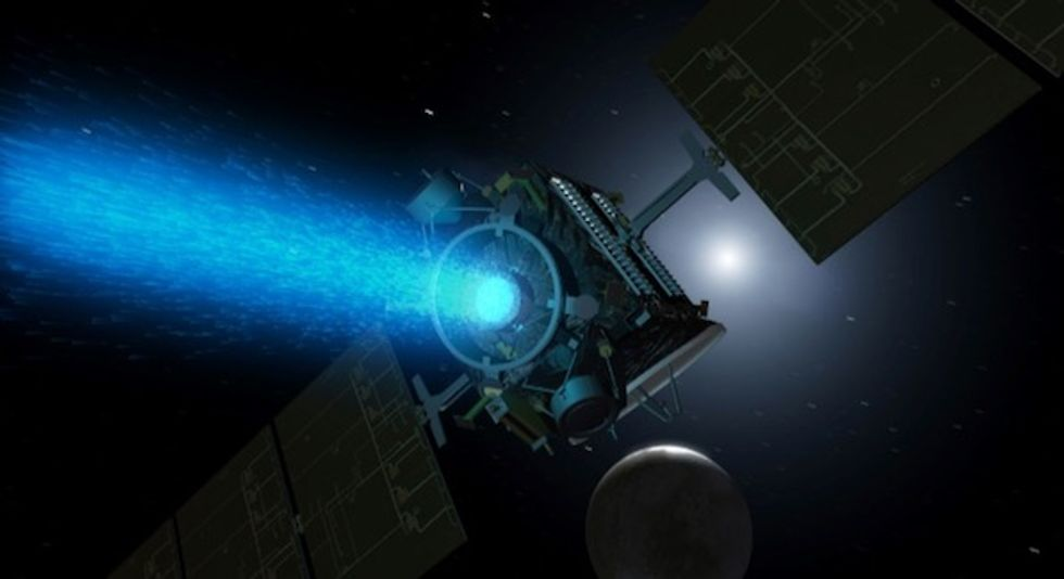 NASA's Dawn asteroid mission ends as fuel runs out