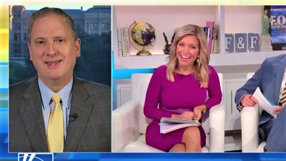 Guest embarrassingly corrects Fox's Ainsley Earhardt after she says Beto O'Rourke could ban plastic straws in Texas