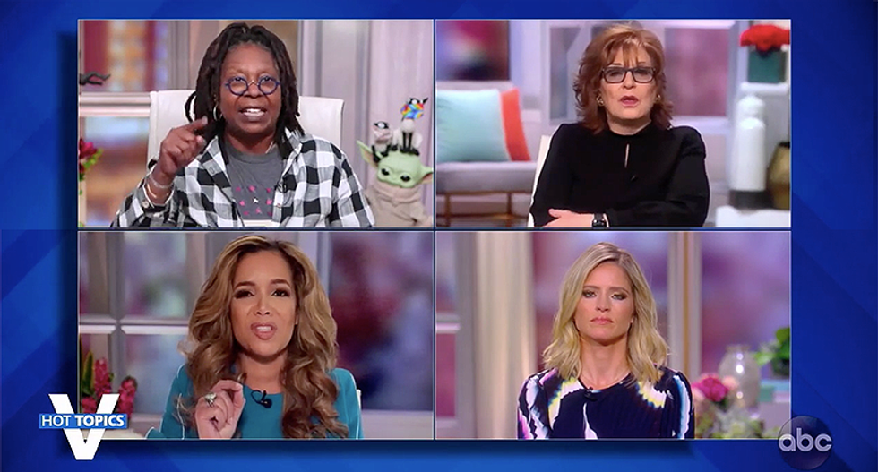 The View shreds 'despicable' Trump for endangering the lives of those around him