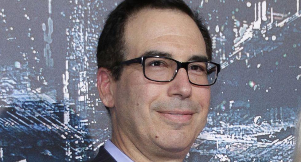 US stock futures jump after Steve Mnuchin says Trump's trade war 'on hold'