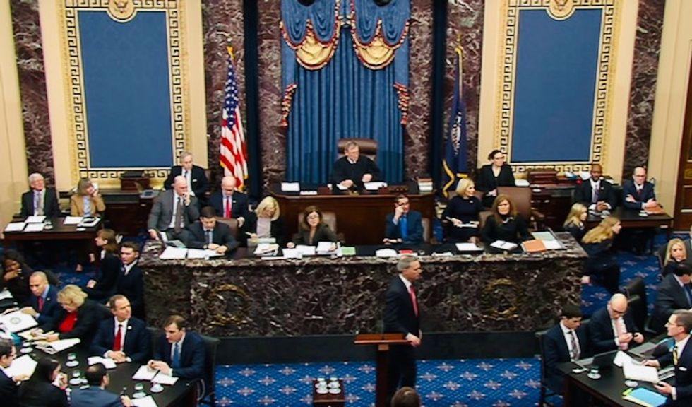 Democrats, White House wrap up case at Trump Senate trial