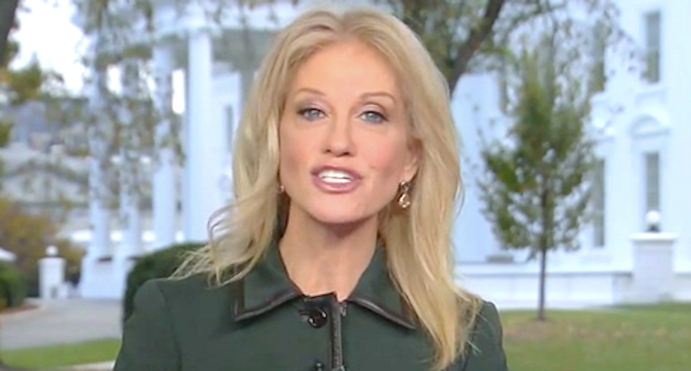 Kellyanne Conway lobs sexist insults to mock Pelosi's feud with Alexandria Ocasio-Cortez