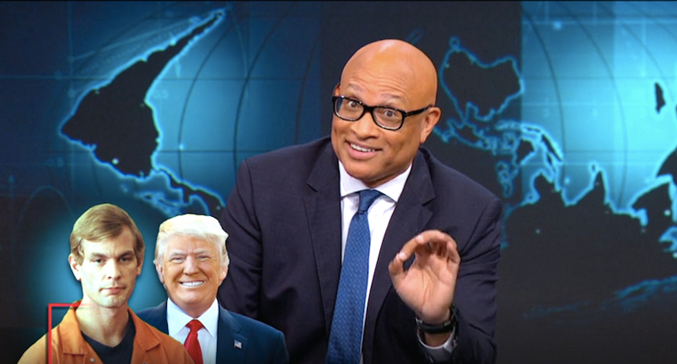Larry Wilmore ridicules Trump's doomed surrogates: 'It's like having to defend Jeffrey Dahmer'