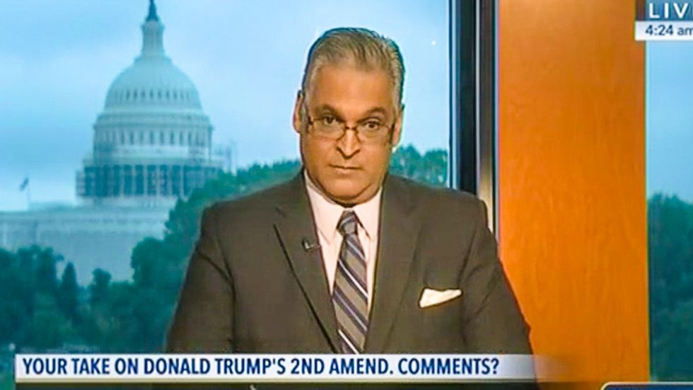 Trump backer tells C-SPAN: Second Amendment remark means brace for armed revolt, not assassination