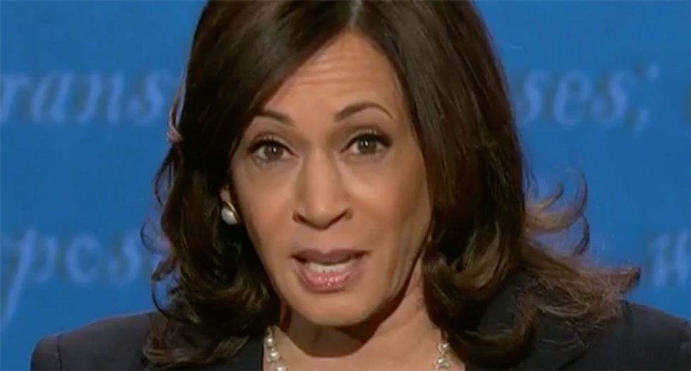 Kamala Harris praised for cornering Amy Coney Barrett: 'She cannot stand being asked questions'