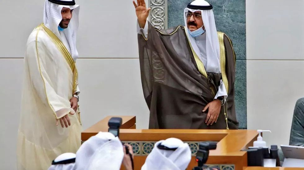 Kuwait's new crown prince sworn in at parliament