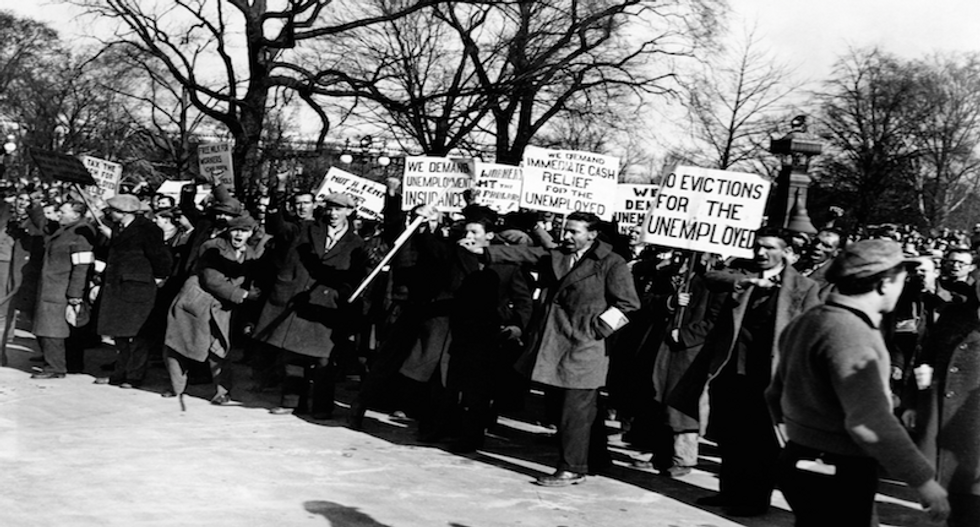 Fed economists warn US unemployment rate could soon reach 32 percent — during Great Depression it peaked at 25 percent