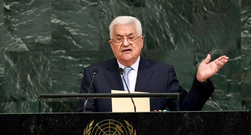 Abbas at UN calls for end to 'apartheid' for Palestinians
