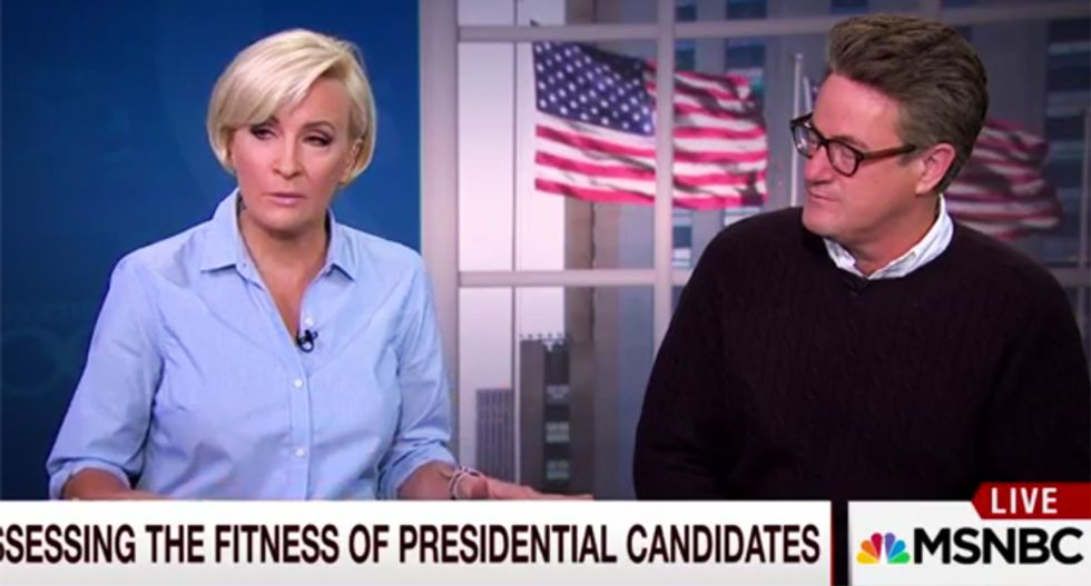 MSNBC's Mika Brzezinski questions Trump's mental health: 'I think there's an issue there'