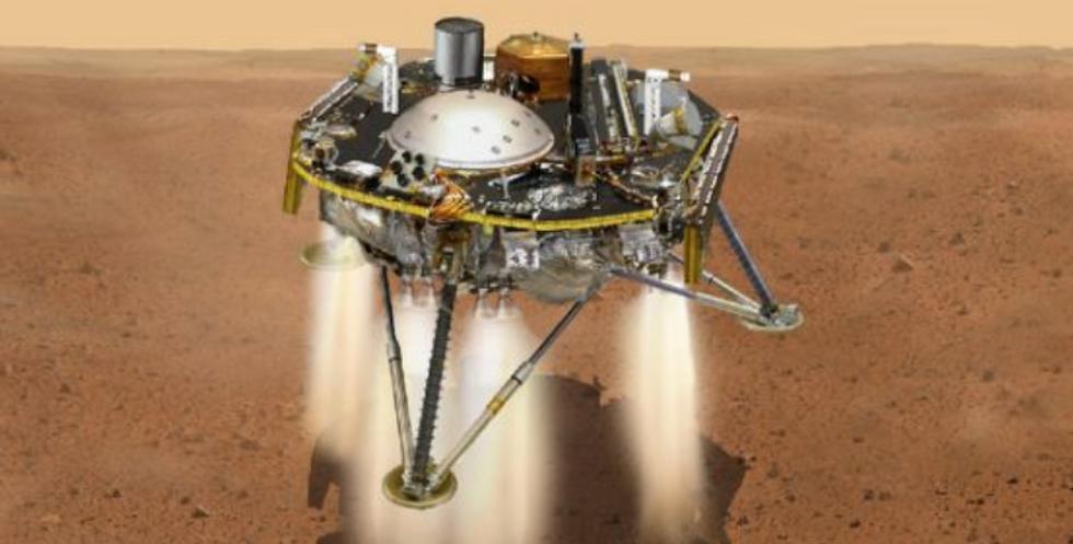 NASA counts down to landing of first Martian quake-sensor