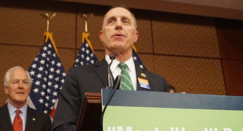 Republican 'pro-life' congressman who asked his mistress to get an abortion to quit early