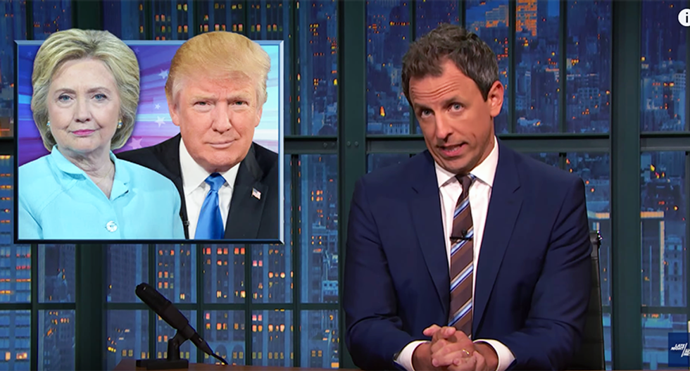 Seth Meyers mocks Donald Trump: He thinks 'bigot' is a compliment because it has 'big' in it