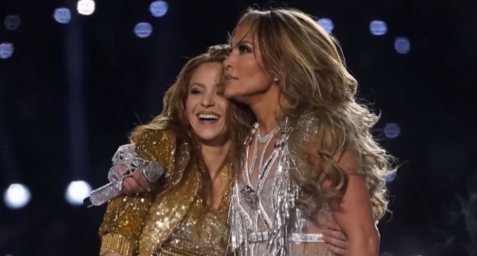 The covert political signals behind Shakira and Jennifer Lopez's stunning Super Bowl halftime show