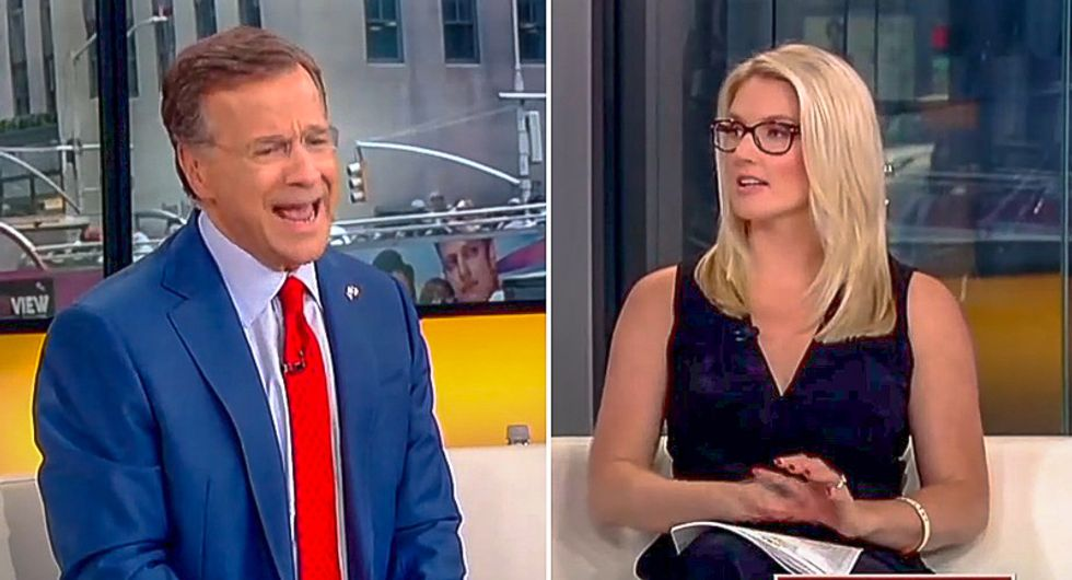 'That's BS!' Fox host freaks out when colleague tells him it's racist to say 'good immigrants' speak English