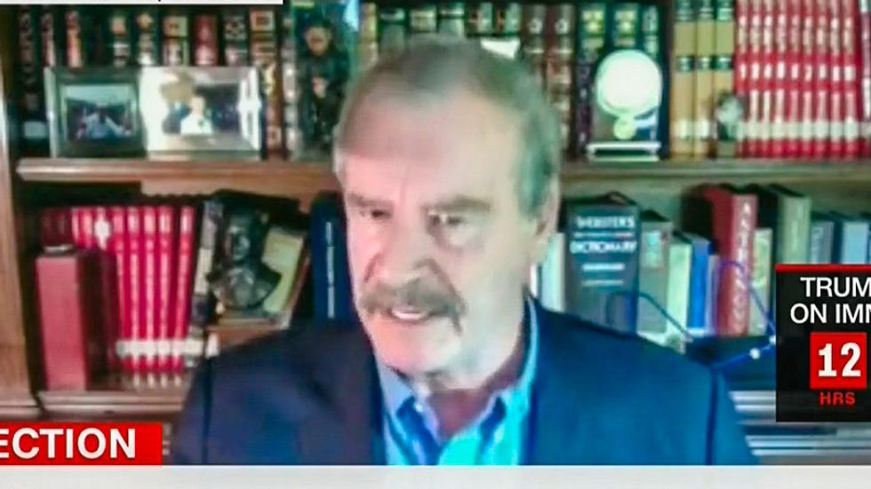 Former Mexico President Vicente Fox unloads on Donald Trump: 'He is not welcome in Mexico'