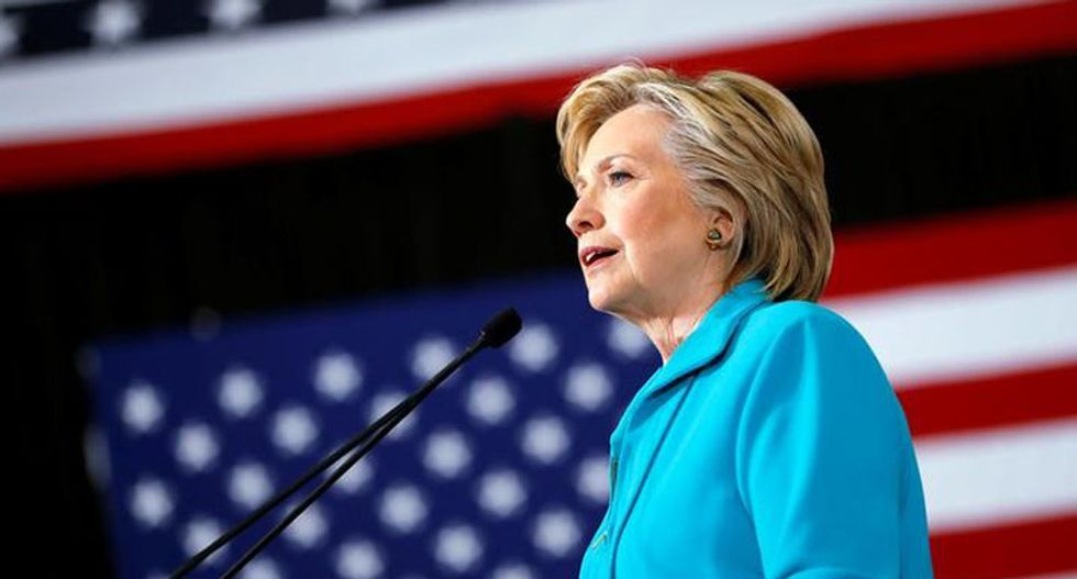 Clinton seeks to court Republicans with foreign policy speech praising 'American exceptionalism'