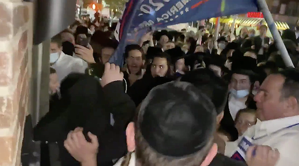 Trump-loving provocateur responsible for assault on Jewish reporter taken into police custody: NYPD