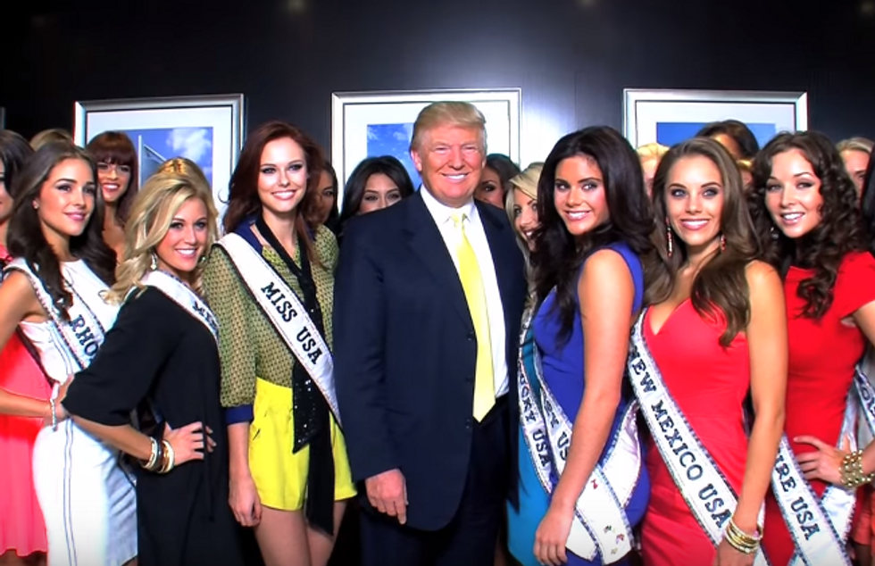 FLASHBACK: Leaked audio shows how Trump systematically humiliated Miss USA pageant contestants