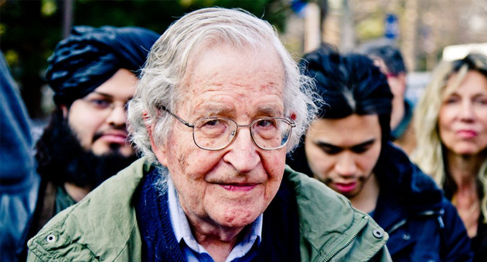 Noam Chomsky: The United States is committing 'a form of criminality with literally no historical antecedent'