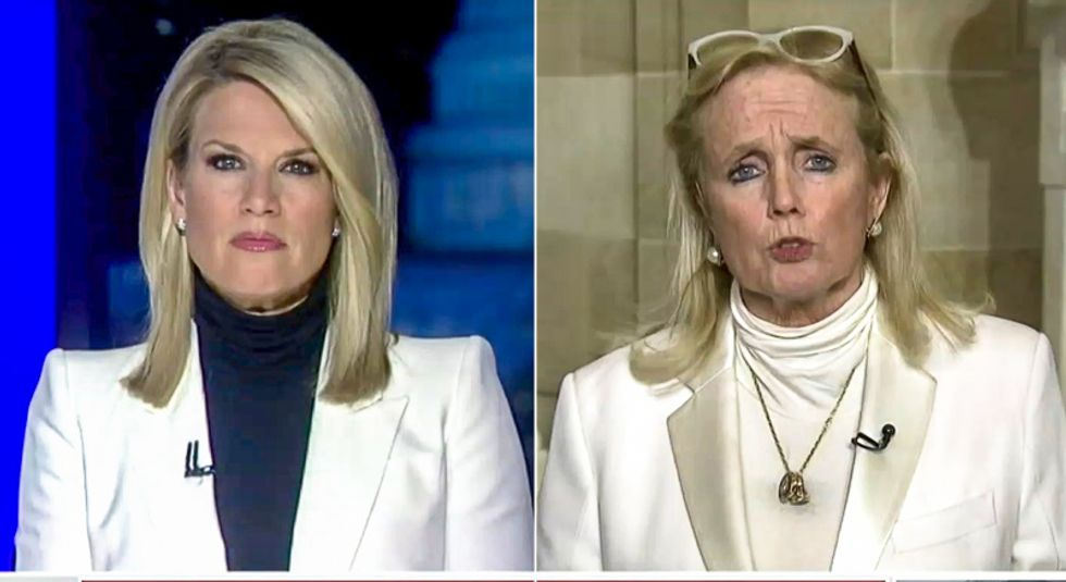 'Socialist': Fox News viewers accuse anchor Martha MacCallum of wearing white with Dems at the State of the Union