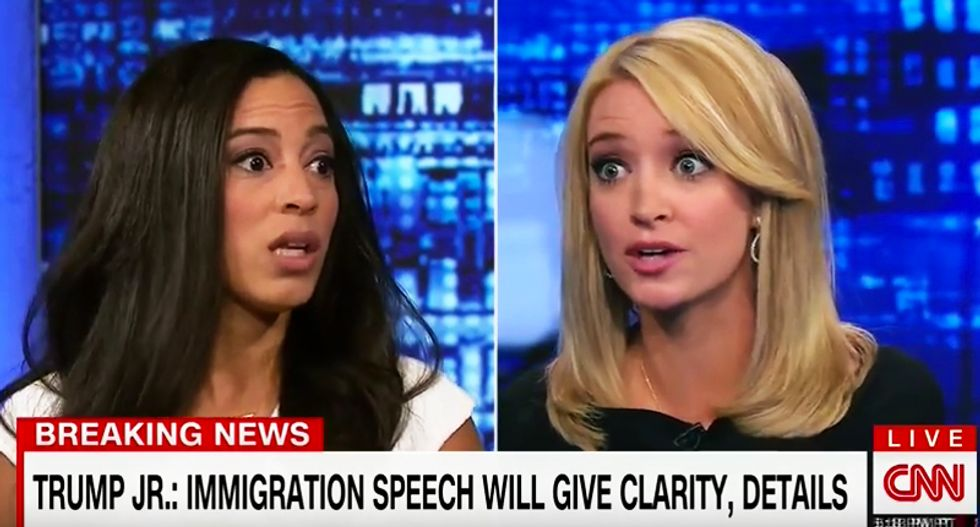 Angela Rye rips Kayleigh McEnany for saying there are '30,000 immigrants here' who murder people