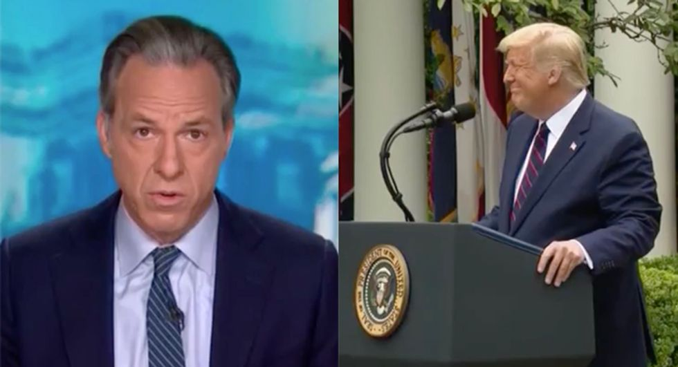 CNN's Tapper trashes Trump as a 'vector of disease' in scorching closing commentary