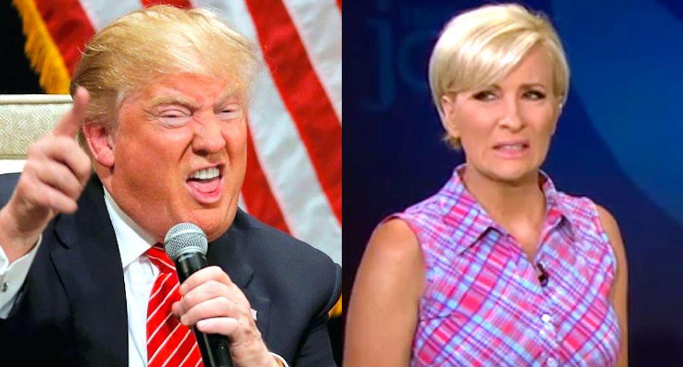 Trump calls MSNBC's Mika Brzezinski a 'psycho'