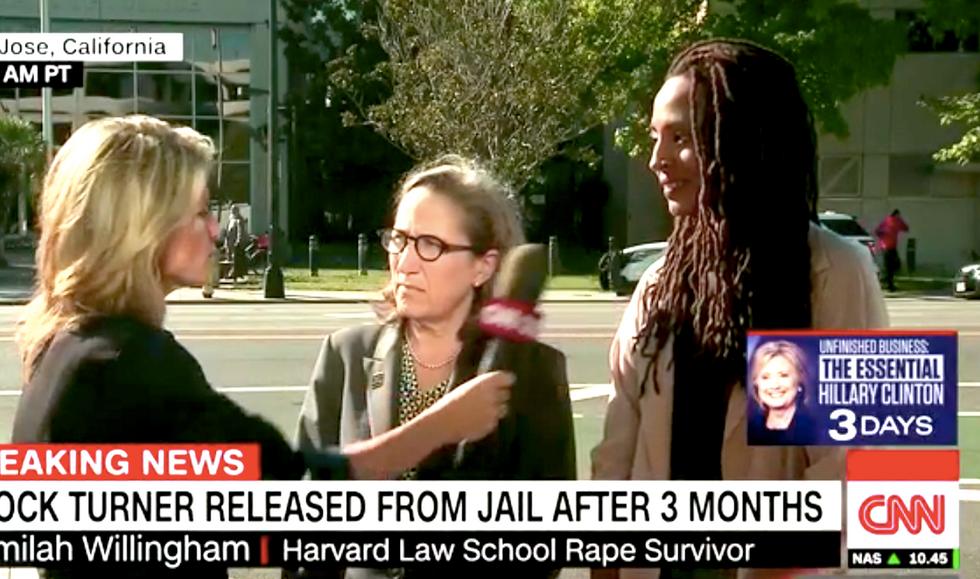 Rape victim scorches Brock Turner on CNN: 'We have the nightmares, we live through the flashbacks'