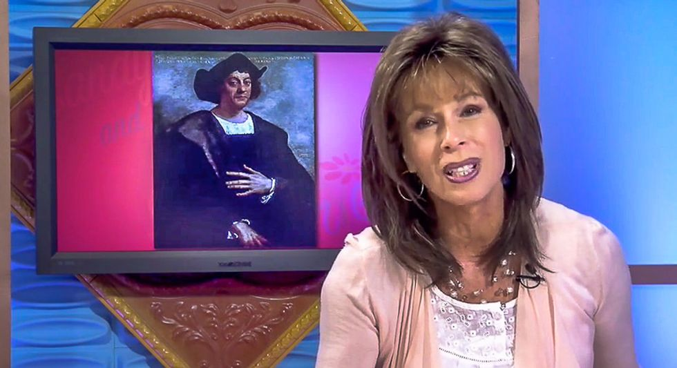 Arizona TV host urges viewers not to call Columbus Day a 'slaughter' because 'mass genocide' is 'nicer'