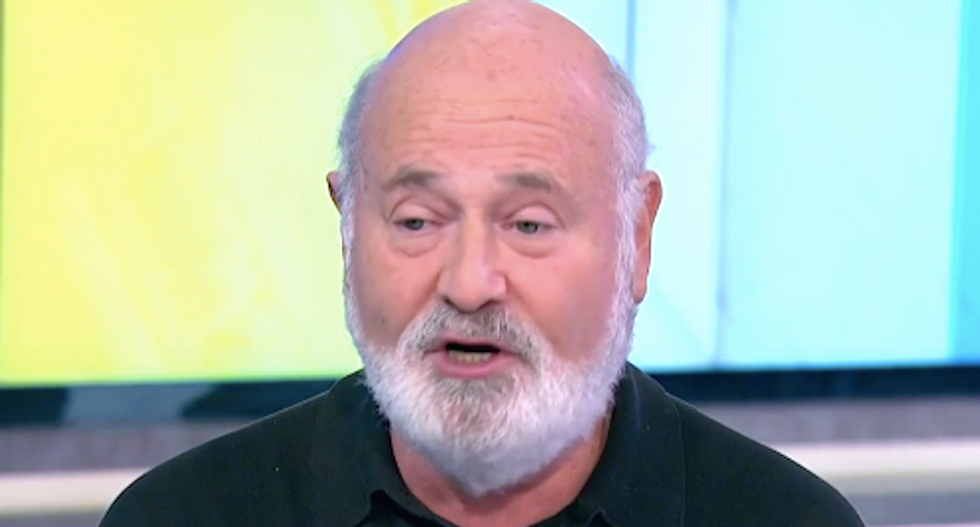 Rob Reiner breaks down Trump's latest temper tantrum: He is 'desperate to be accepted as a strongman'